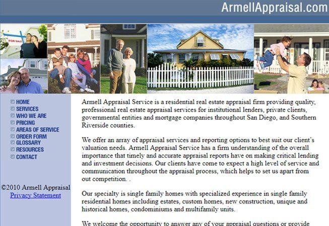 Armell Appraiser - Website
