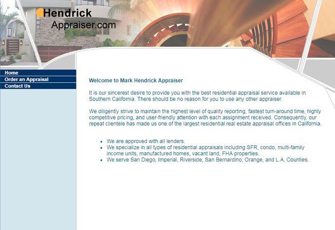 Hendrick Appraiser - Web Site