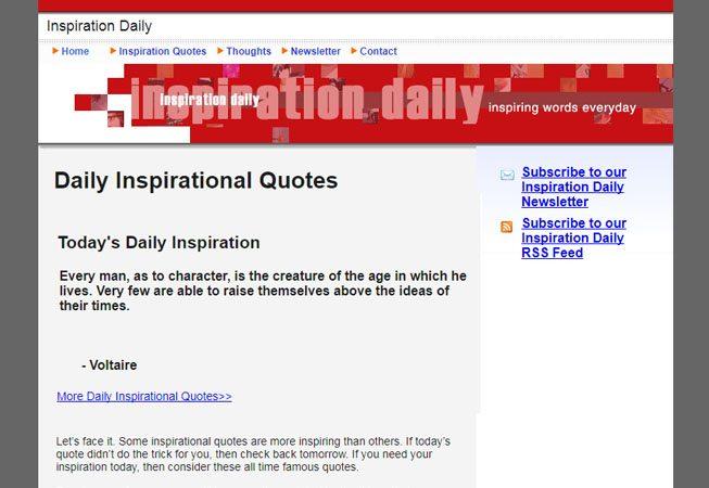 Inspiration Daily - Media Titan Website