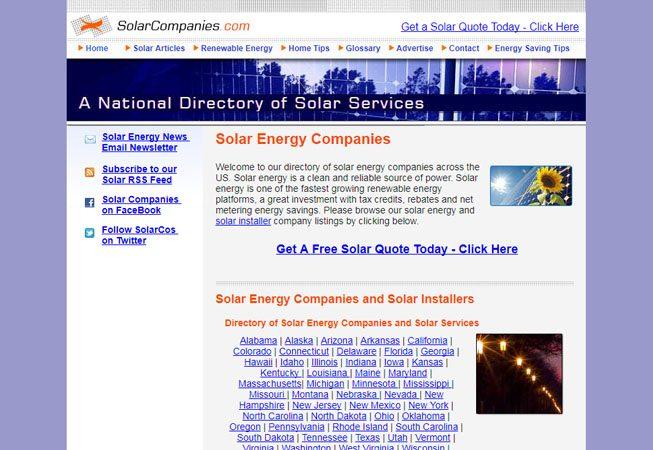 Solar Companies - Former Media Titan Company